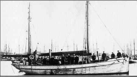 Folkvang rundt 1916. (Foto: Astafjord Kystlag)
