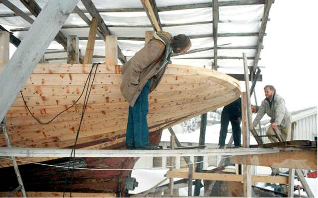 Nytt tømmer fra Skoddeberg