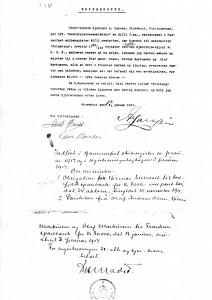 Kjøpekontrakt fra 1917, side 2