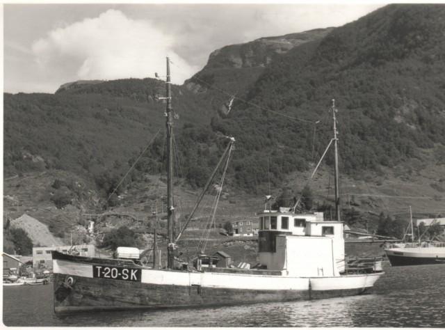 Folkvang like før båten ble solgt i 1976