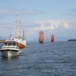 Den nærmsete båten er Sigmund Simonsen Grovfjord, og Nålsund fra Salangen