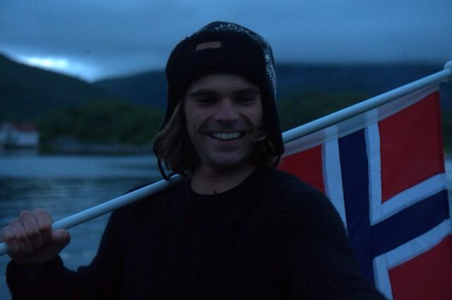 Fernando fra Spania som har vært med fra Brest til Grovfjord